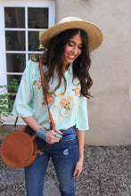 Jasmine Floral Embroidered Top