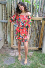 Dillon Floral Print Off The Shoulder Dress