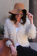 Penny Lane Crochet Knit Cardigan
