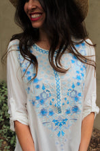 Amal Floral Embroidered Top
