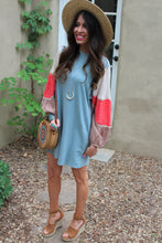 Molly Contrast Sleeve Dress