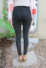 Lauren Crochet Back Detailing Leggings