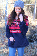 Toma Tribal Print Pullover Sweater