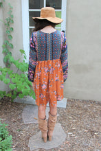 Zoe Mixed Print Dress