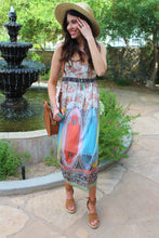 Chloe Mixed Print Dress