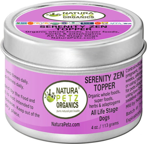 Serenity Zen Meal Topper for Dogs and Cats - Serenity Zen Anti-Stress & Anti-Anxiety Meal Topper