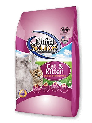 NutriSource Chicken & Rice Formula Cat Food