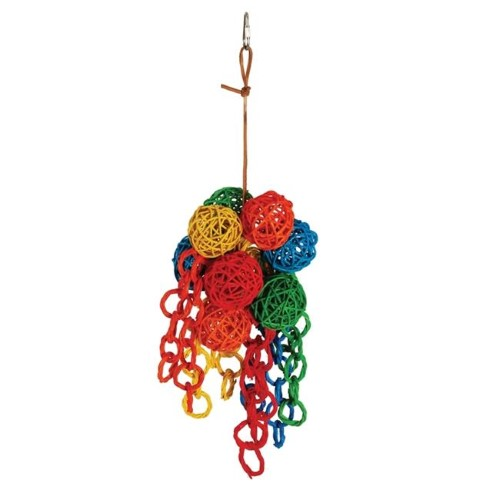 Paradise  Small Vibrant Cluster 5 x 12 in. Bird Toy