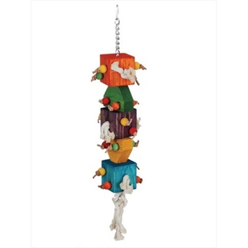 Paradise Loaded Dice - 7 x 31 in. Bird Toy