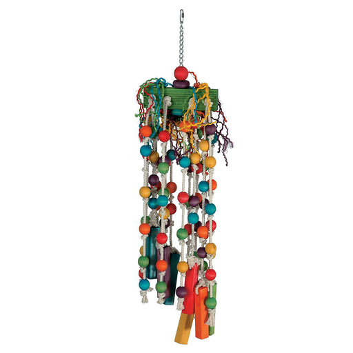 Paradise Giant Push Pull 10 x 44 in. Bird Toy