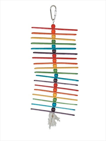 Paradise Popscile Sticks 5 x 12 in. Bird Toy