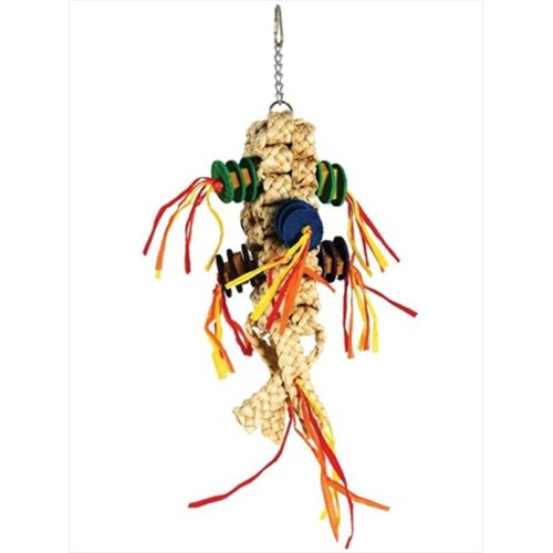 Paradise Frond Lanyard 5 x 15 in. Bird Toy