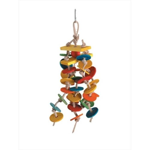 Paradise Spinning Falls 4 x 12 in. Bird Toy