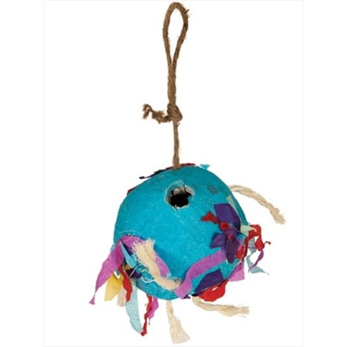 Paradise Party Ball 4 x 4 in. Bird Toy