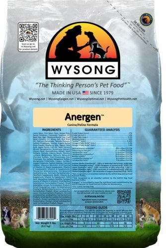 Wysong Anergen Lamb and Rice Dry Dog and Cat Food