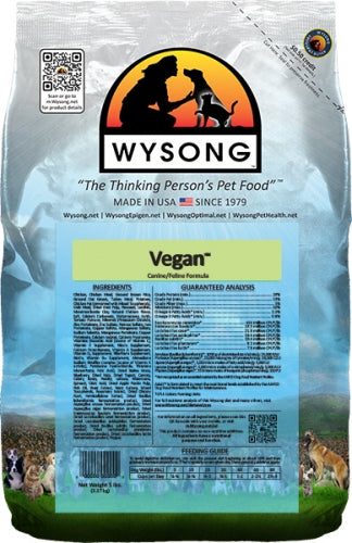 Wysong Vegan Dry Dog and Cat Food