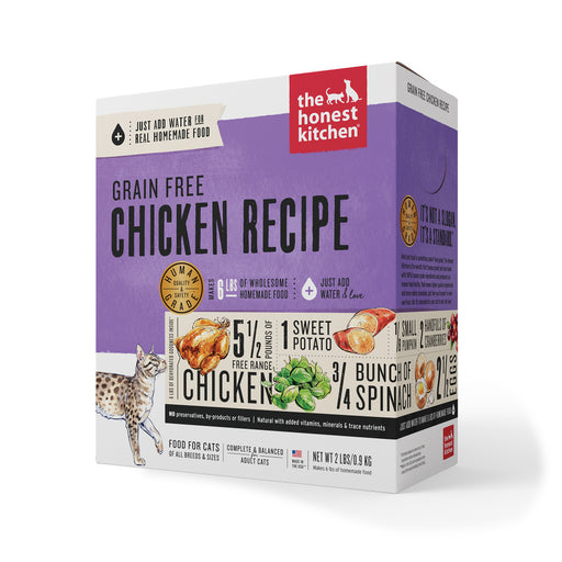 The Honest Kitchen Grain Free Chicken Recipe Dehydrated Cat Food