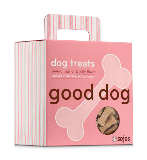 Sojos Good Dog Peanut Butter And Jelly Treats