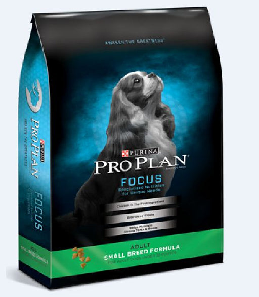 Purina Pro Plan Focus Adult Small Breed Formula Dry Dog Food