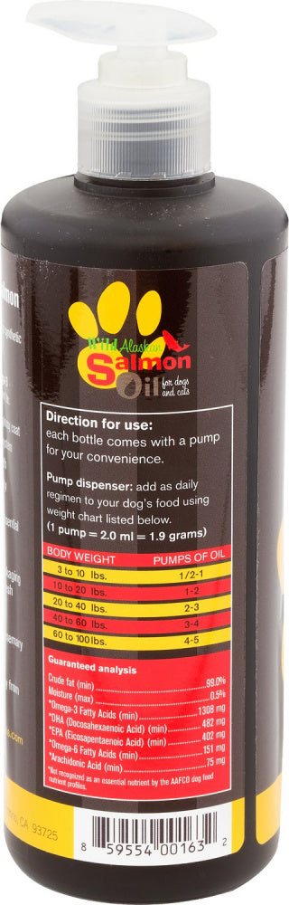 Plato Wild Alaskan Salmon Oil For Dogs & Cats