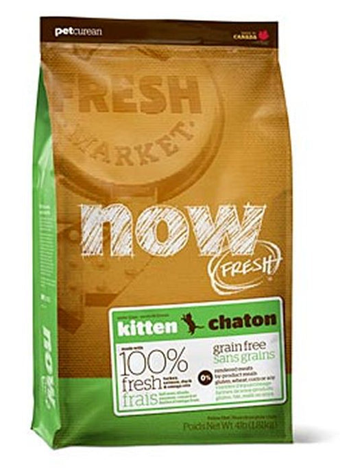 Petcurean Now! Fresh Grain Free Kitten Recipe Dry Cat Food