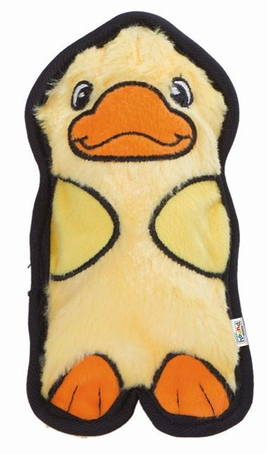 Outward Hound Invincible Mini Duck Plush Dog Toy