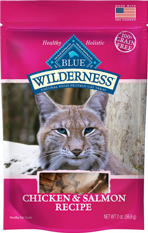 Blue Buffalo Wilderness Chicken & Salmon Cat Treats