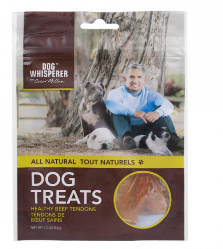 Cesar Millan All Natural Healthy Beef Tendons Dog Treats