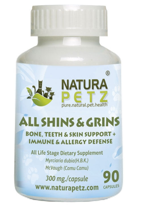 All Shins & Grins - Bone, Eye, Teeth & Skin Support + Immune Health & Allergy Defense *