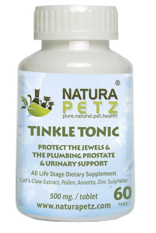 Tinkle Tonic - Protect the Jewels & the Plumbing and Prostate, Bladder Control & Urinary Support
