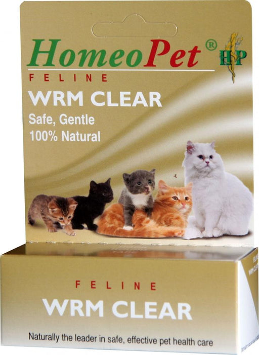 HomeoPet Feline Wrm Clear