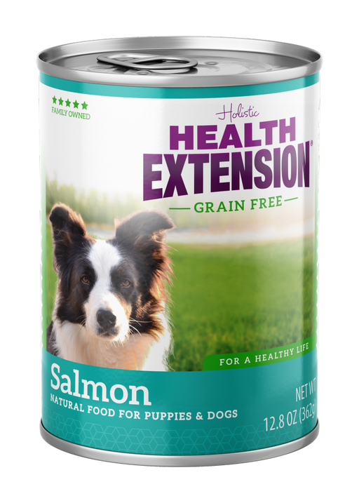 Health Extension Holistic Grain Free 95% Salmon Canned Dog Food