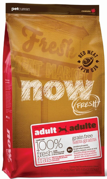 Petcurean Now! Fresh Grain Free Red Meat Recipe Dry Dog Food