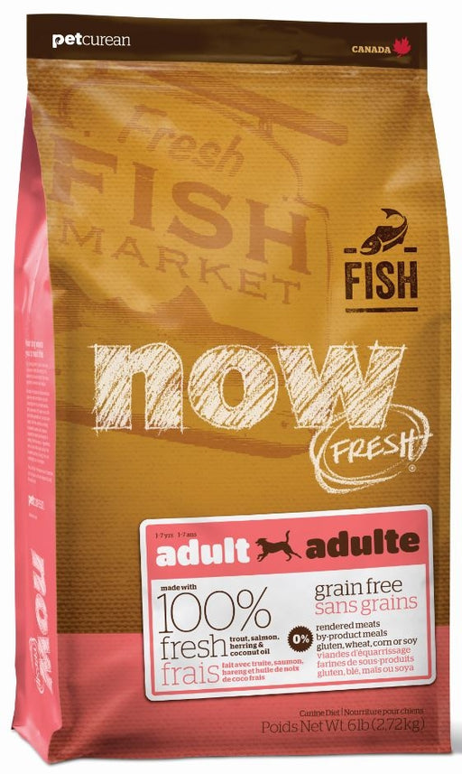 Petcurean Now! Fresh Grain Free Fish Recipe Dry Dog Food