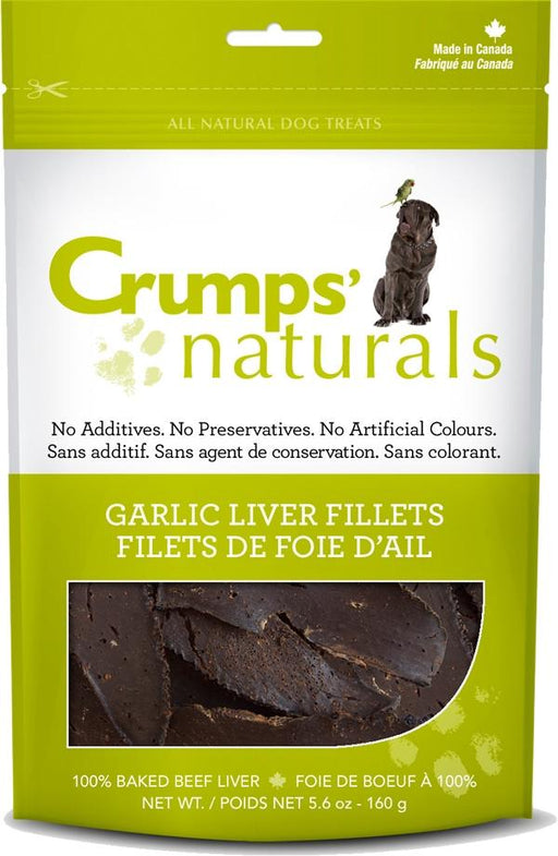 Crumps Naturals Garlic Liver Dog Treats