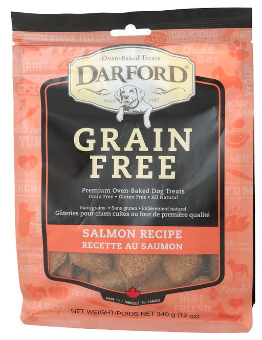Darford Grain Free Salmon Recipe Oven Baked Dog Treats