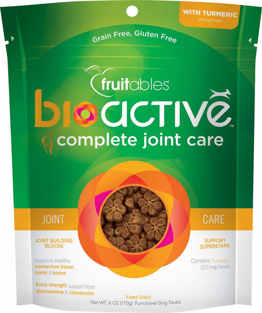 Fruitables BioActive Complete Joint Care Grain Free Soft Chews for Dogs