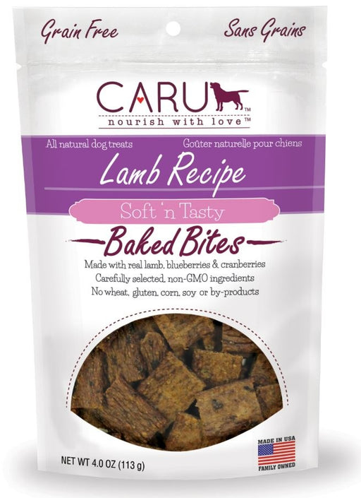 Caru Natural Grain Free Lamb Recipe Bites for Dogs