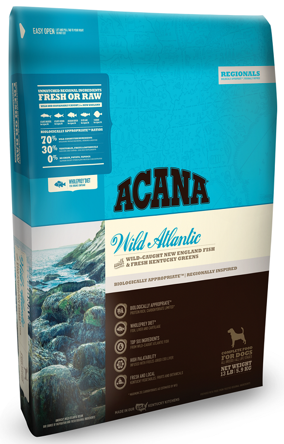 ACANA Regionals Wild Atlantic Formula Grain Free Dry Dog Food