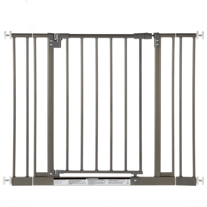 North States Easy-Close Wall Mounted Steel Pet Gate