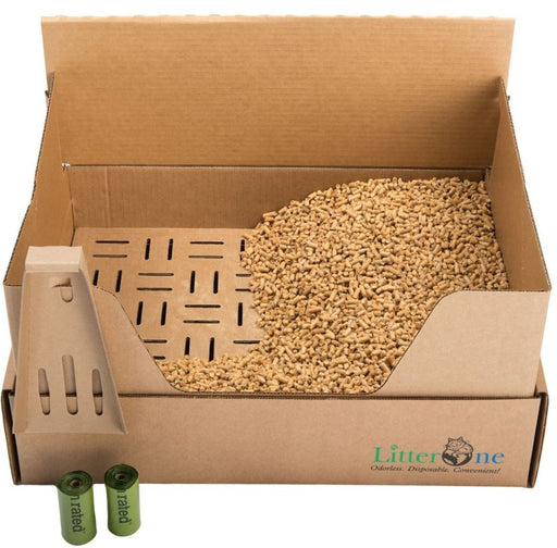 Litter One Biodegradable Cat Litter Kit