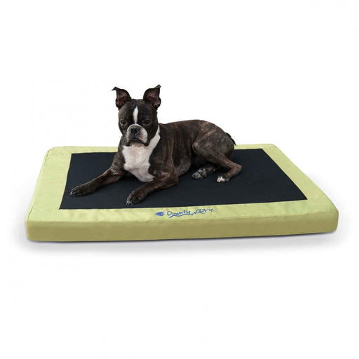 K&H Pet Products Comfy n' Dry Green Indoor-Outdoor Pet Bed