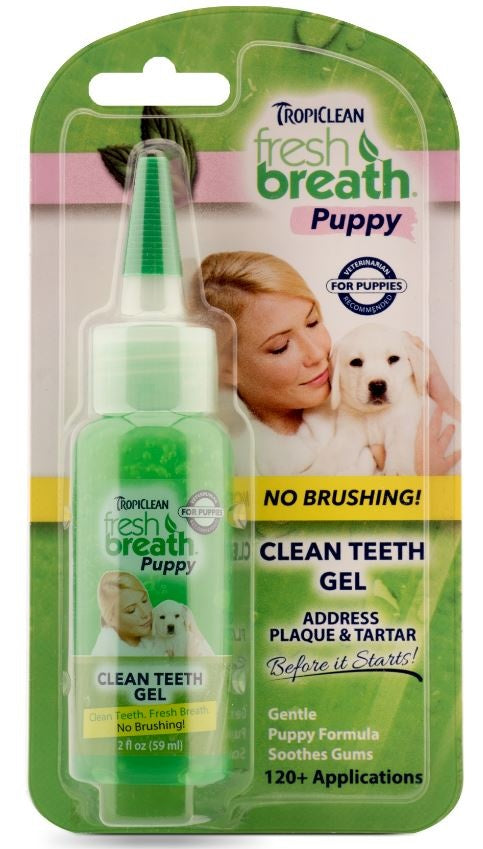 Tropiclean Fresh Breath Puppy Clean Teeth Gel
