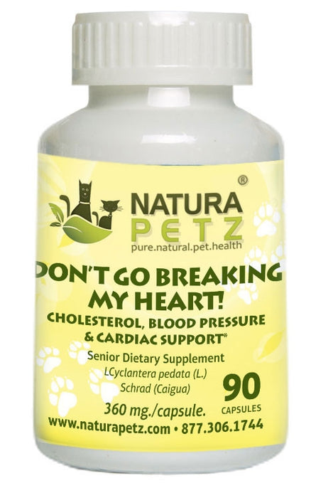 Don't Go Breaking My Heart - Cholesterol, Blood Pressure & Cardiac Support*