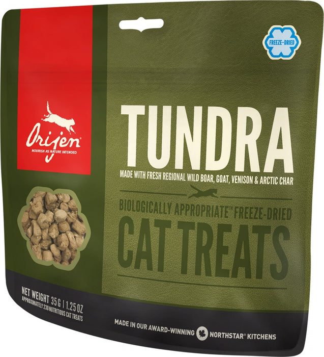 ORIJEN Grain Free Freeze Dried Tundra Cat Treats