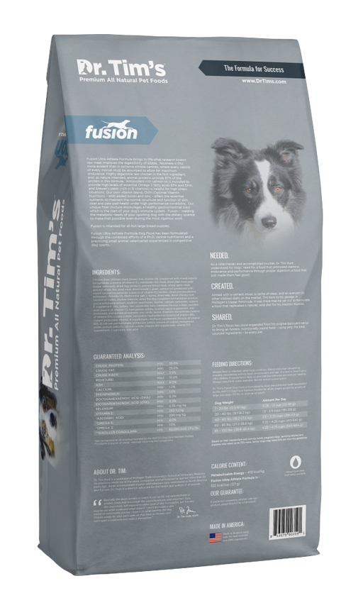 Dr. Tim's Fusion Ultra Athlete Formula Dry Dog Food
