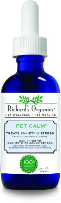 Richard's Organics Pet Calm for Dogs and Cats