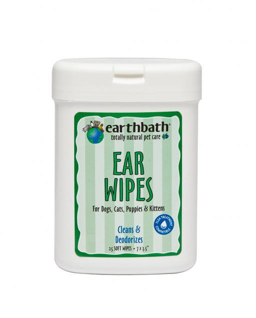 Earthbath Ear Wipes for Dogs and Cats