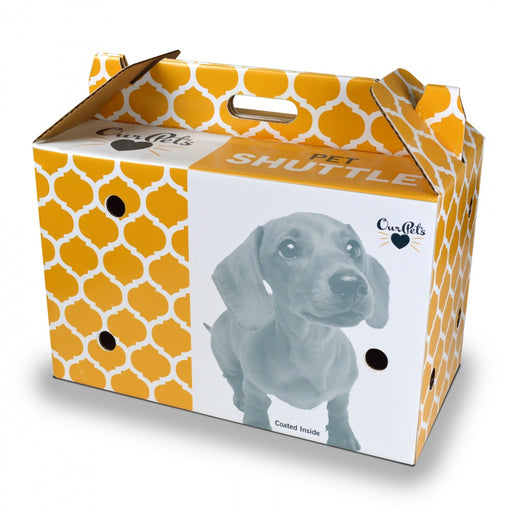 OurPets Pet Shuttle Cardboard Pet Carrier