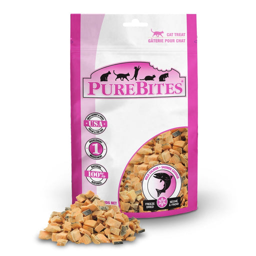PureBites Freeze Dried Salmon Cat Treats